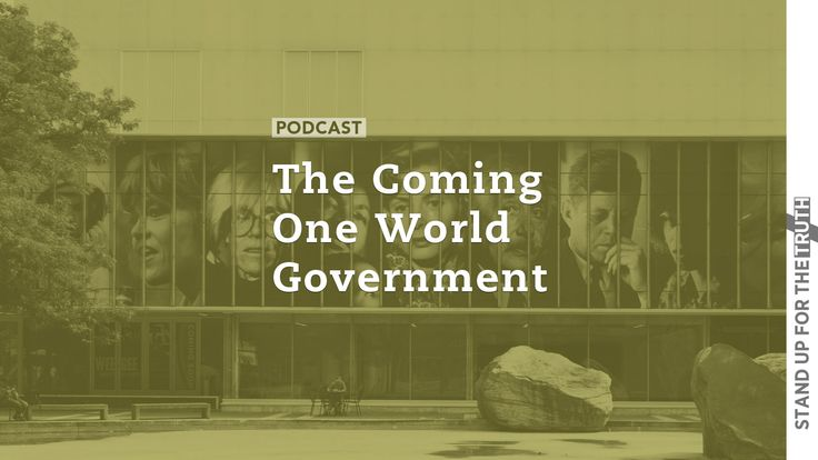 The Coming One World Government |  The Bible tells us it will happen and today's news confirms it: we are rapidly headed to a one world government that will demand our allegiance to the state over God. The enemy and the world have successfully distracted us with busyness---sports entertainment the pursuit of leisure wealth and social media---all the while setting the table for Satan's one world system of domination.  Gary Kah of Hope For the World has been studying and writing about a one…