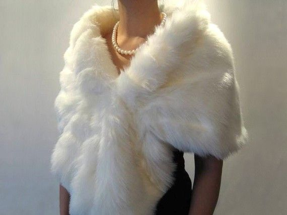 Hey, I found this really awesome Etsy listing at https://www.etsy.com/uk/listing/62349924/ivory-faux-fur-wrap-bridal-wrap-faux-fur