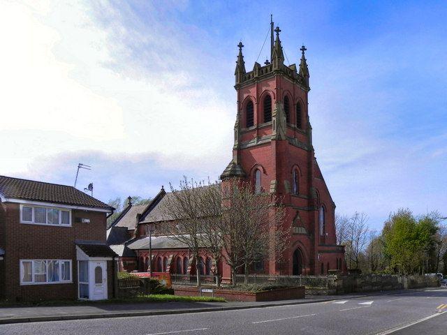 OLDHAM (Northmoor), Lancashire - Ukrainian Catholic Church of St. Peter & Paul and All Saints in Chadderton Road (opened in 1987).