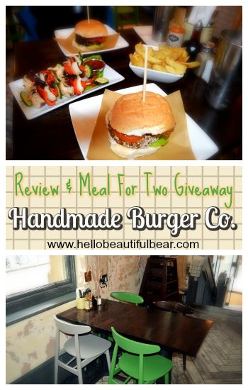 Review & Giveaway: Handmade Burger Co. at Deansgate, Manchester {Vegan Range} » Hello Beautiful Bear