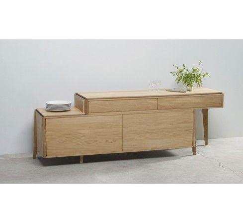 Photo de liser 340 buffet cologique en bois et meuble - Meuble made in france ...