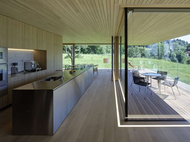 Located on a mountain overlooking Bregenz, House D′s open floorplans and generous glazing allow for magnificent views over the surrounding countryside and La...
