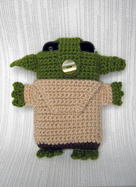 PDF PATTERN Yoda Star Wars iPhone 7 6 5 crochet case