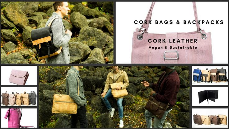 NEW cork bags & backpacks made of vegan & sustainable cork! project video thumbnail