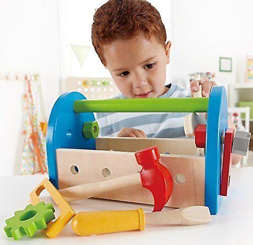 Hape Love Play Learn Wooden Toy - Fix It Tool Box - E3001 - New | Baby Toys & Activity Equipment | Fruugo United Kingdom