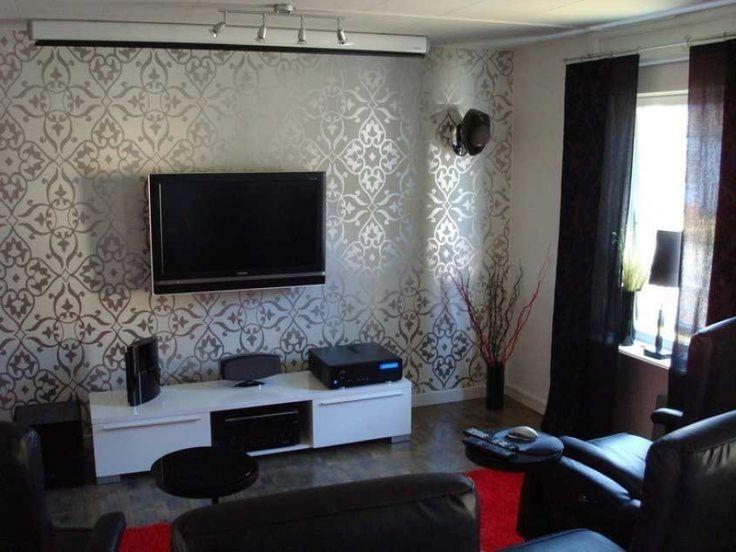 Designer Wallpapers For Living Rooms | Living Room | Pinterest | Designer  Wallpaper, Wallpaper And Room Part 13