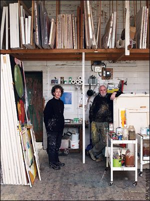 Clare Wardman and Iain Robertson honoured to meet every artist Pothmeor Studios