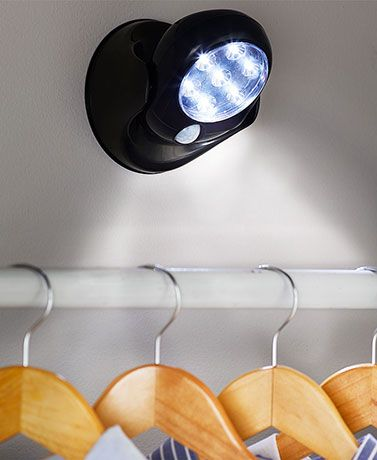 Motion-Activated 7-LED Lights