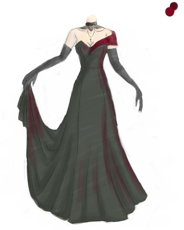 Masquerade dress by AerithReborn on deviantART