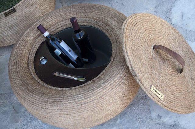 1000 images about sillas con llantas on pinterest tire for Muebles de jardin sofas