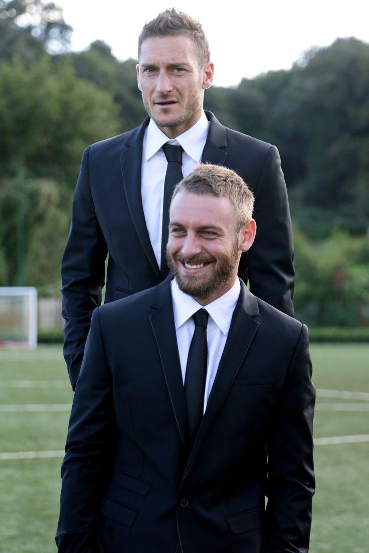 #Totti and #DeRossi in #PhilippPlein