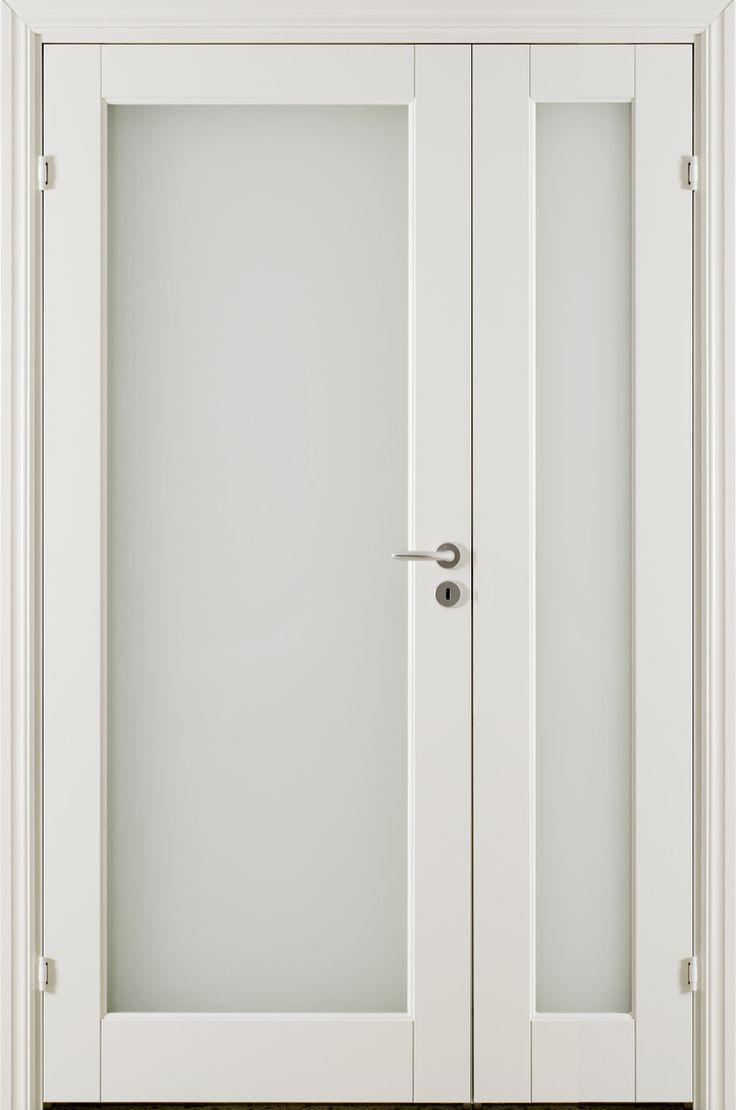 Oden HG 1 Double Door - Interior Door made by GK Door, Glommersträsk, Sweden.  www.gkdoor.se