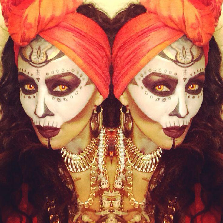 Voodoo Priestess | Halloween 2013 but it looks like you Sonya~