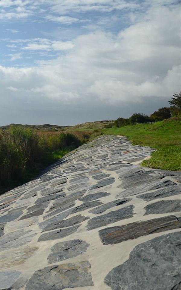 Et historisk værn mod havets oversvømmelser – restaurering af dige ved Børsen i Sønderho på Fanø