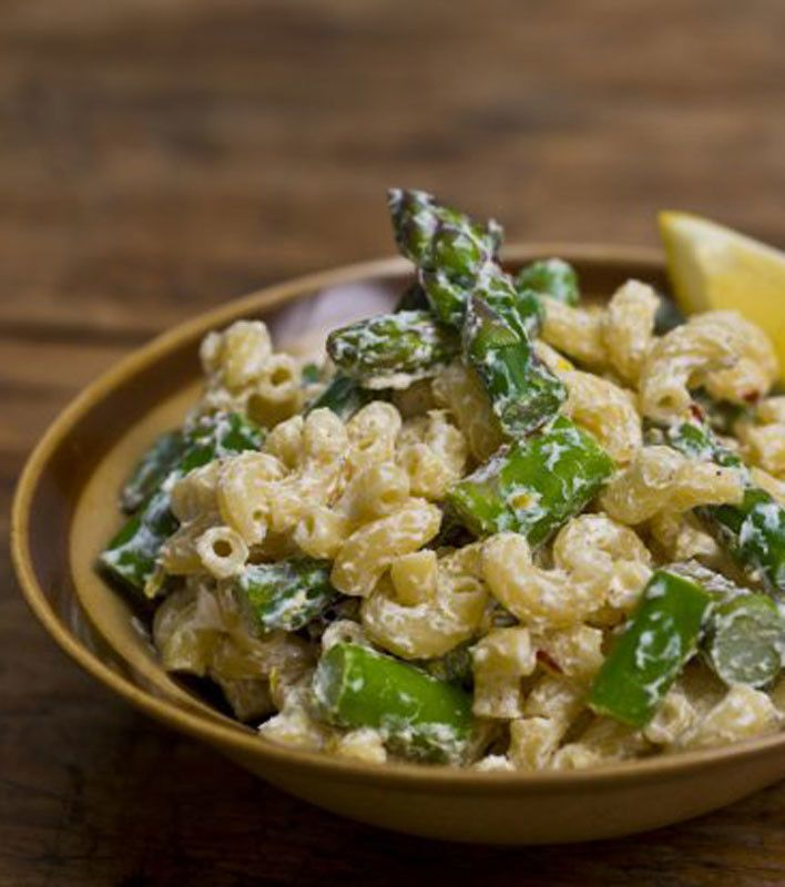 goat cheese and asparagus macaroni salad more cheese recipe salad ...