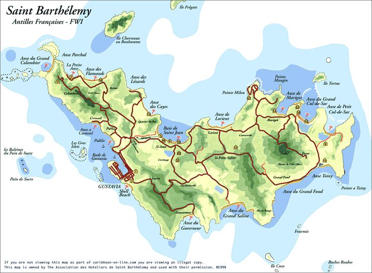 Best Maps Caribbean Images On Pinterest Traveling - Road map of grenada island
