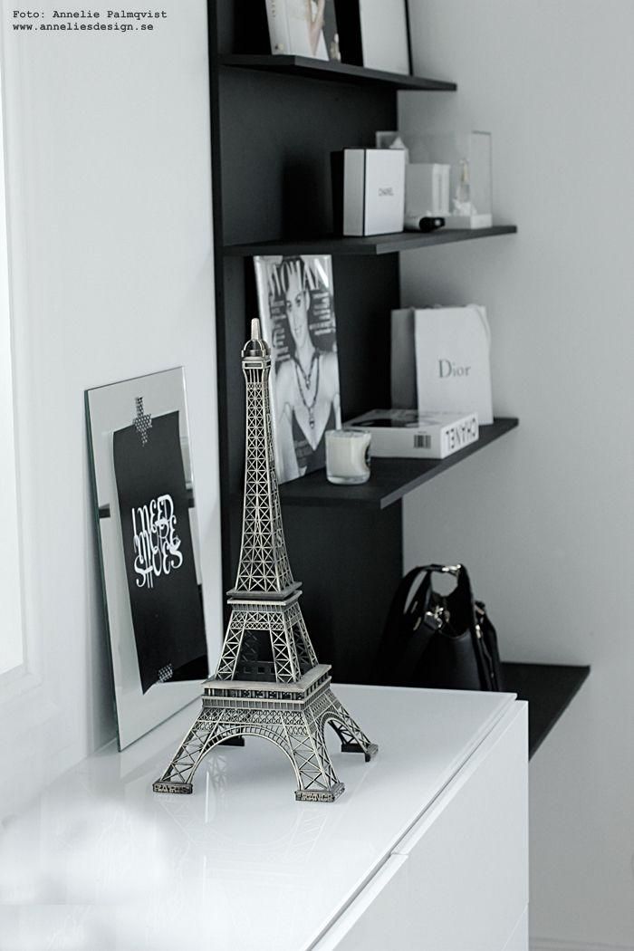 Eiffeltorn i inredningen mm: www.anneliesdesign.se