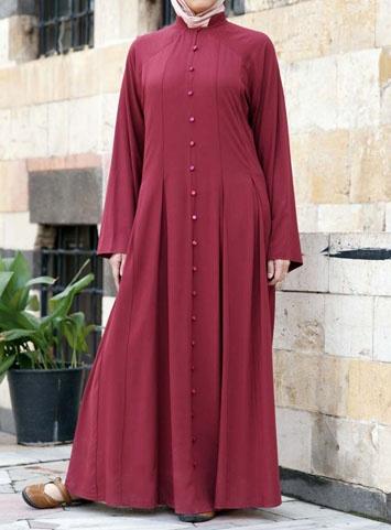 Pleated Abaya Dress from ShukrClothing.com