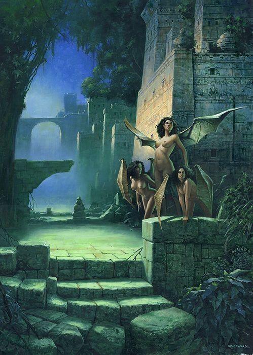 Image result for si fi portal fantasy art