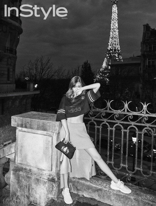 Girls' Generation's Tiffany is glamorous in Paris for 'InStyle' | http://www.allkpop.com/article/2016/03/girls-generations-tiffany-is-glamorous-in-paris-for-instyle