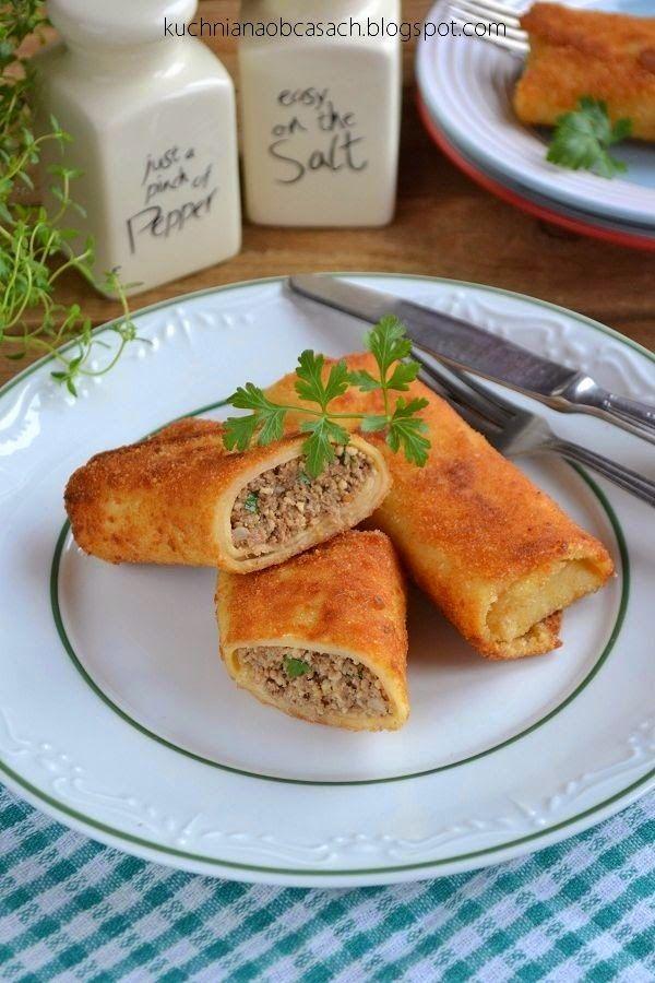 kuchnia na obcasach: Krokiety z mięsem