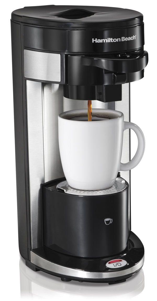 Hamilton Beach Flexbrew Single Serve Ground K Cup Coffee Maker 49999a Single Serve Coffee Makers Single Cup Coffee Maker Best Coffee Maker