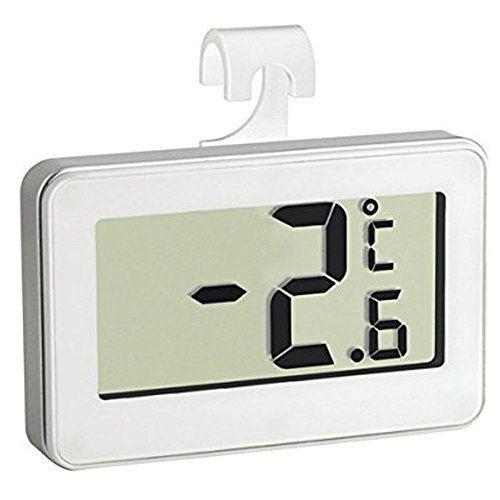 Thermomètre de Frigo Electronique – Triple système d'accroche : crochet, support, magnétique. Sonde intégrée: Price:7.98– Simple et design,…