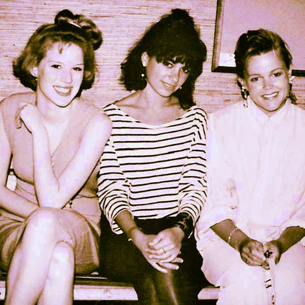 the JoBeth Williams recollection... - Molly Ringwald, Susannah Hoffs + Belinda Carlisle