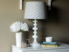 lamp shade makeover, home decor, lighting, Create your perfect lamp in a few simple steps