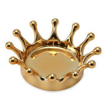 hnm/Milk Crown Tray(S) ゴールド 5040yen 「一瞬」をデザインモチーフにした多用途トレー