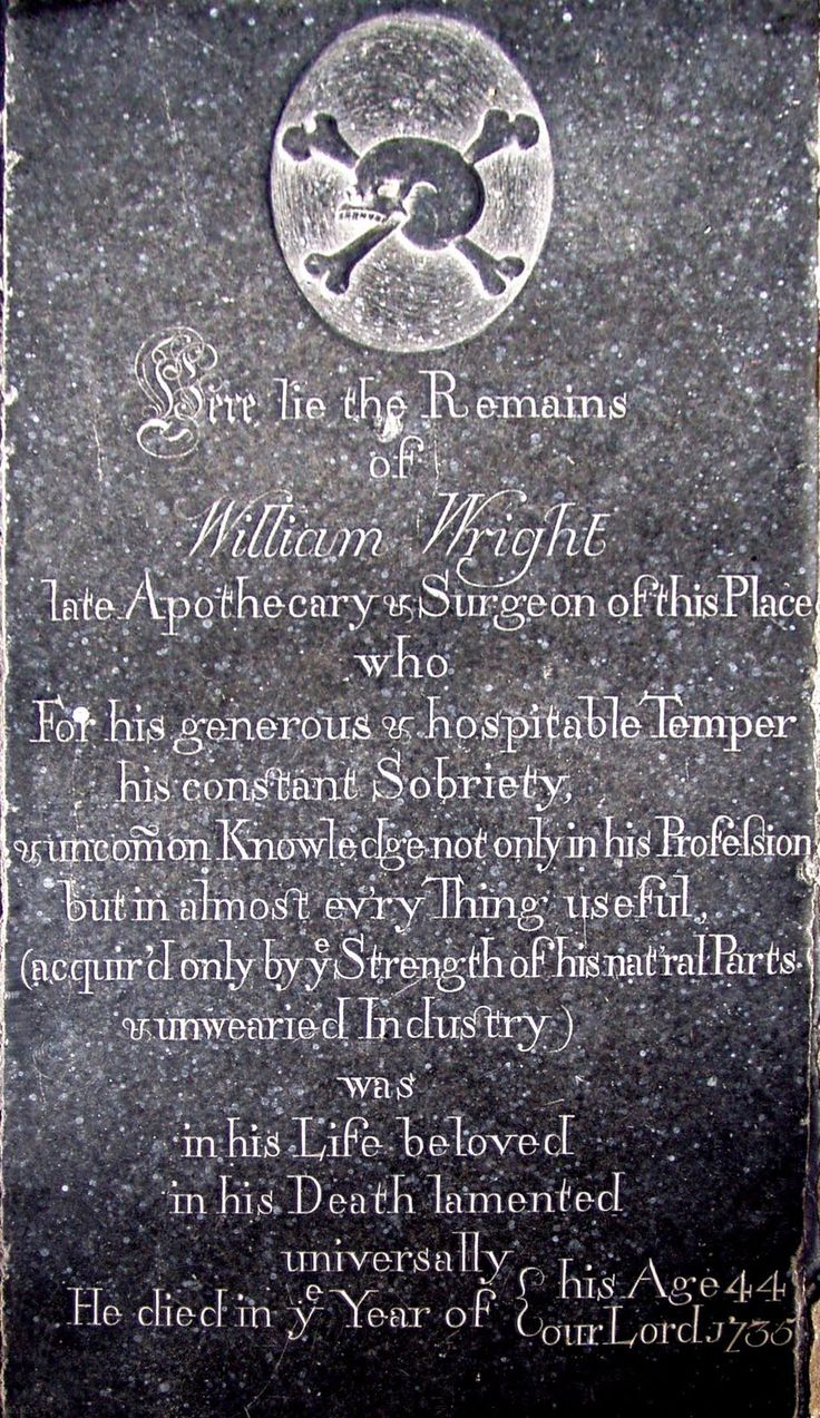 Vintage Copywriting Blog: Vintage Gallery #14 The Grave of the Apothecary, 1735. This gravestone can be found inside the The Collegiate Church of the Holy Trinity, Tattershall, Lincolnshire, England.