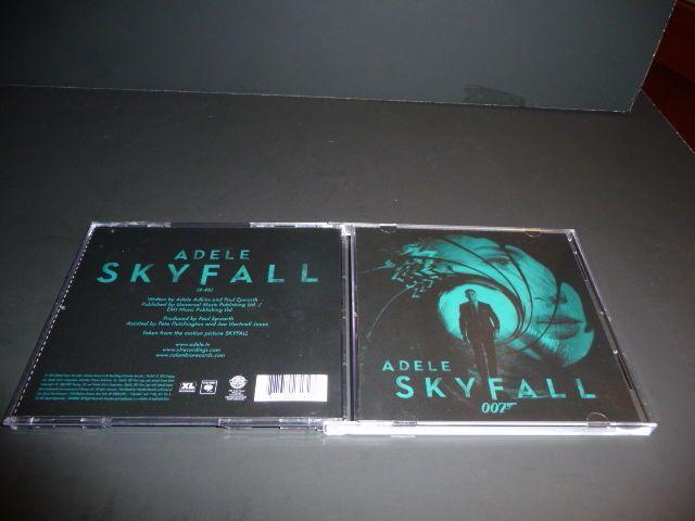 Skyfall [Single] by Adele (CD, 2012, Sony Music Entertainment) #FilmScoreSoundtrack