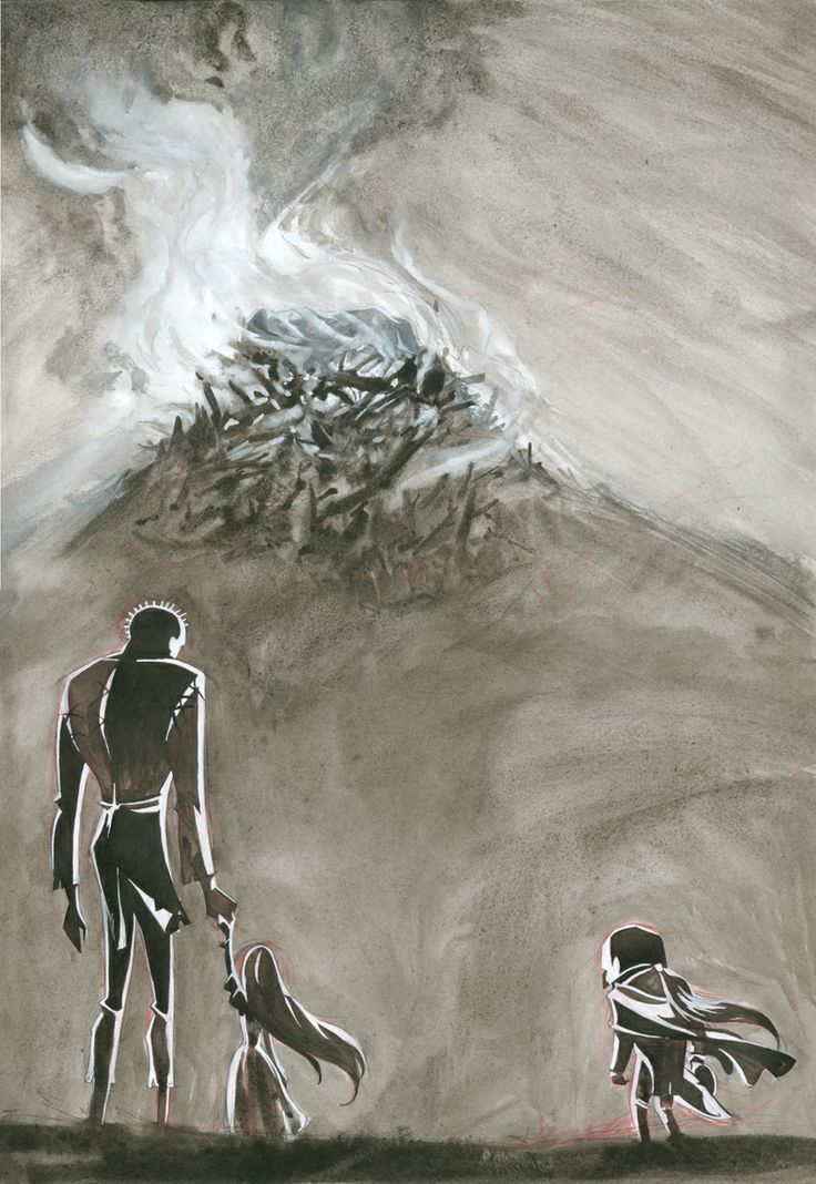 'En memoria': tinta aguada y gouache. 300€ David Belmonte ©