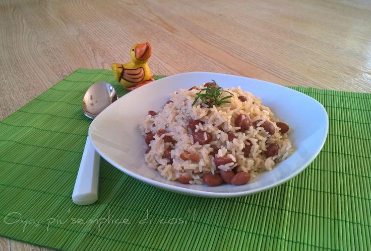 Riso e fagioli, ricetta semplice e saporita. http://blog.giallozafferano.it/oya/riso-e-fagioli-ricetta-semplice/