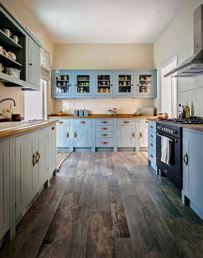 cabinets and floor