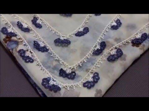 İğne oyaları Çember kenar Oyaları 5 - YouTube