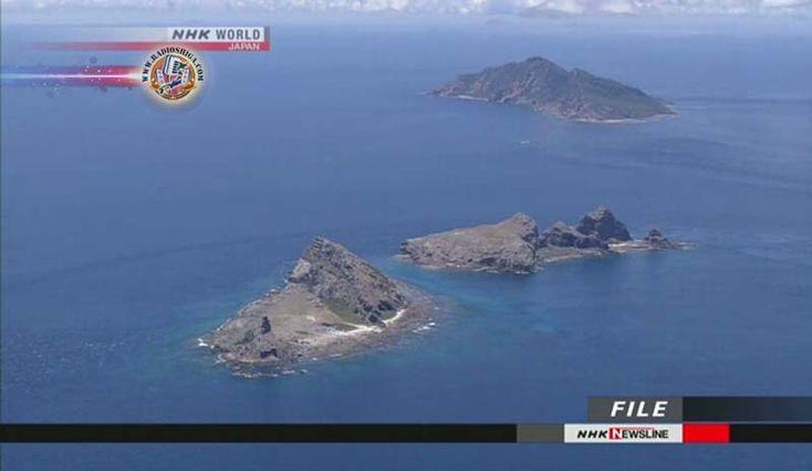 Navios chineses entram em águas territoriais do Japão. Três barcos patrulha chineses entraram em águas territoriais do Japão ao largo das Ilhas Senkaku...