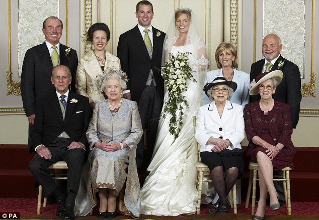 Peter and Autumn (Kelly) Phillips with their parents and grandparents on their wedding day in 2008.