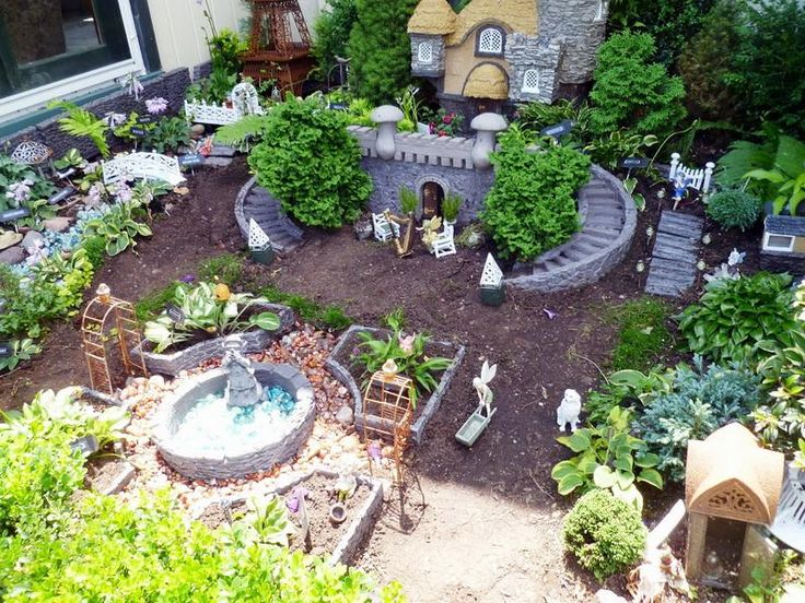 17 Best images about Fairy Garden on Pinterest Fairy gardening