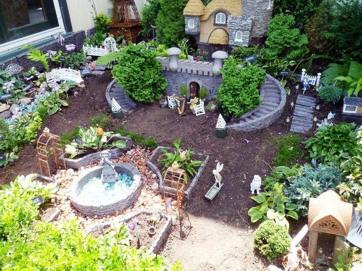 17 Best images about Fairy Garden on Pinterest Fairy gardening