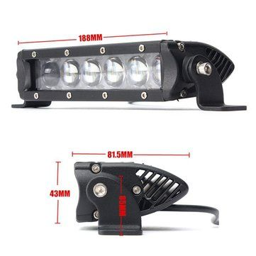 7.5inch 30W Combo LED Work Light Bar Flood Lamp For Offroad Driving Lamp SUV Car Boat 4WD Truck Sale - Banggood.com