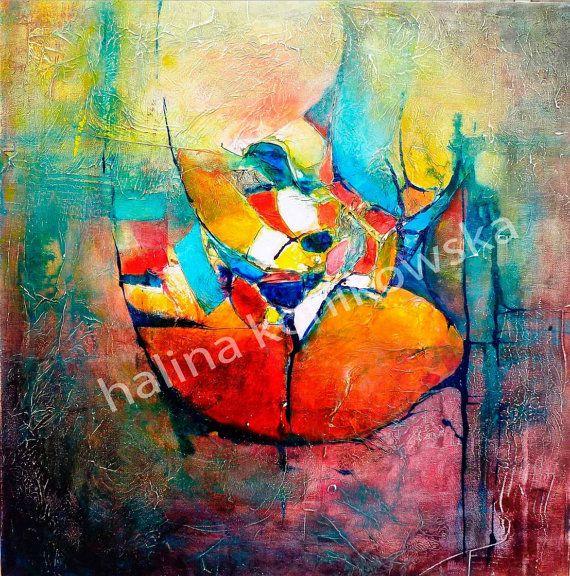 Mosaic abstract by Halina K