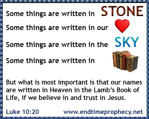 Lamb Book Of Life Before The Foundation Of The World