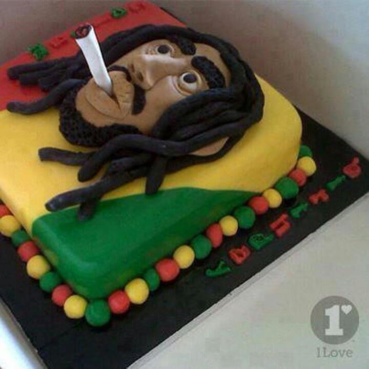 bob marley cake images