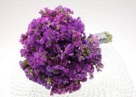 Purple Statice Bouquet