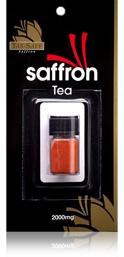 Our Tas-Saff Saffron Tea 2000mg jar. This jar equals out to 100 cups of tea. Buy directly online.