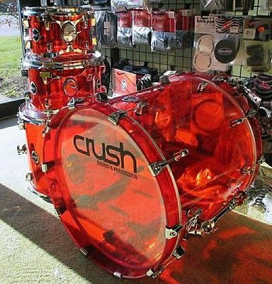 acrylic drum set - Google Search