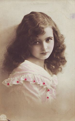 The girl in this vintage photo reminds me of my granddaughter Katrina who is now 16 years old.