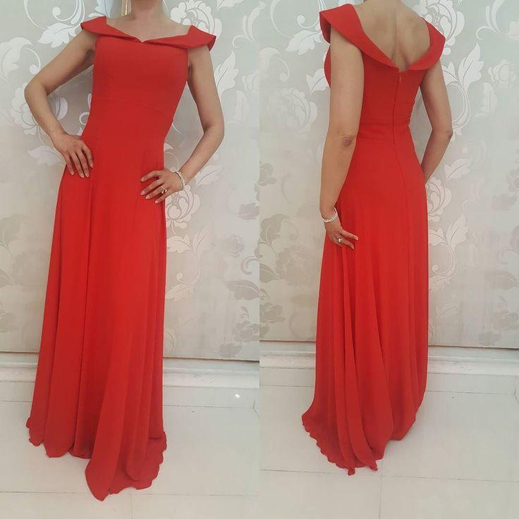 #abito lungo #rosso #valeria #abbigliamento
