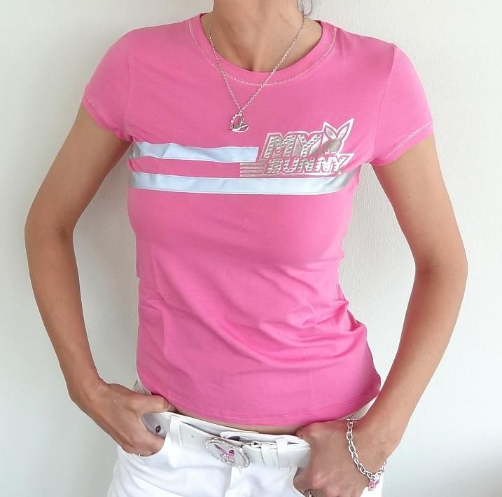 Camiseta Playboy Womens My Pink
